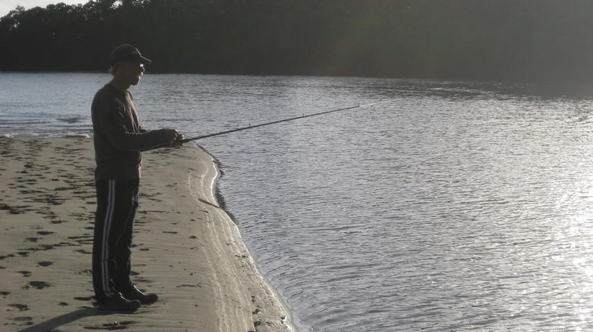 Fishing South Zoe Bay Creek