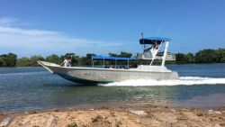 26-person-boat for ferry to Hinchinbrook Island