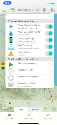 Thorsborne Trail App